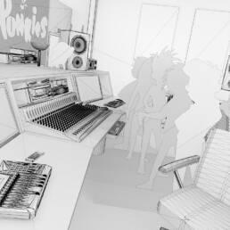 3d-animation-motion-design-graphic-hamburg-michel-magens-punkies_recording-studio_05
